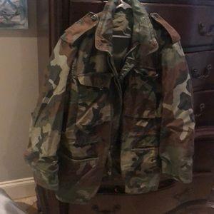 Medium/ regular size original army jacket